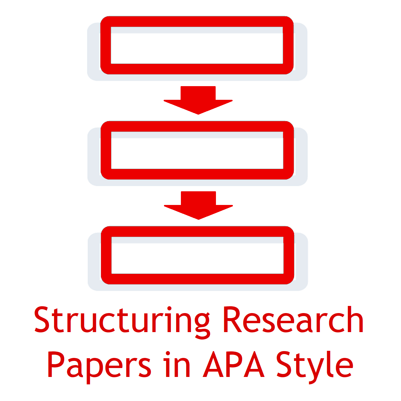 apa research paper structure