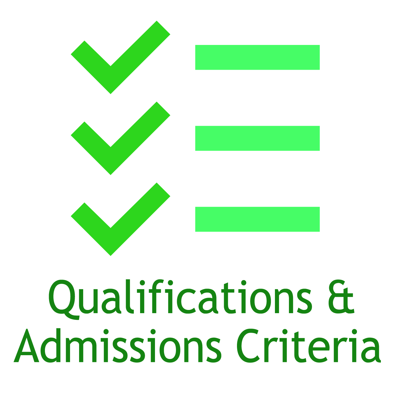Applicant Qualifications Admissions Criteria And Acceptance Rates