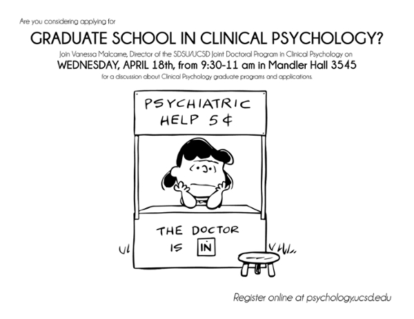Graduate School in Clinical Psychology Information Session