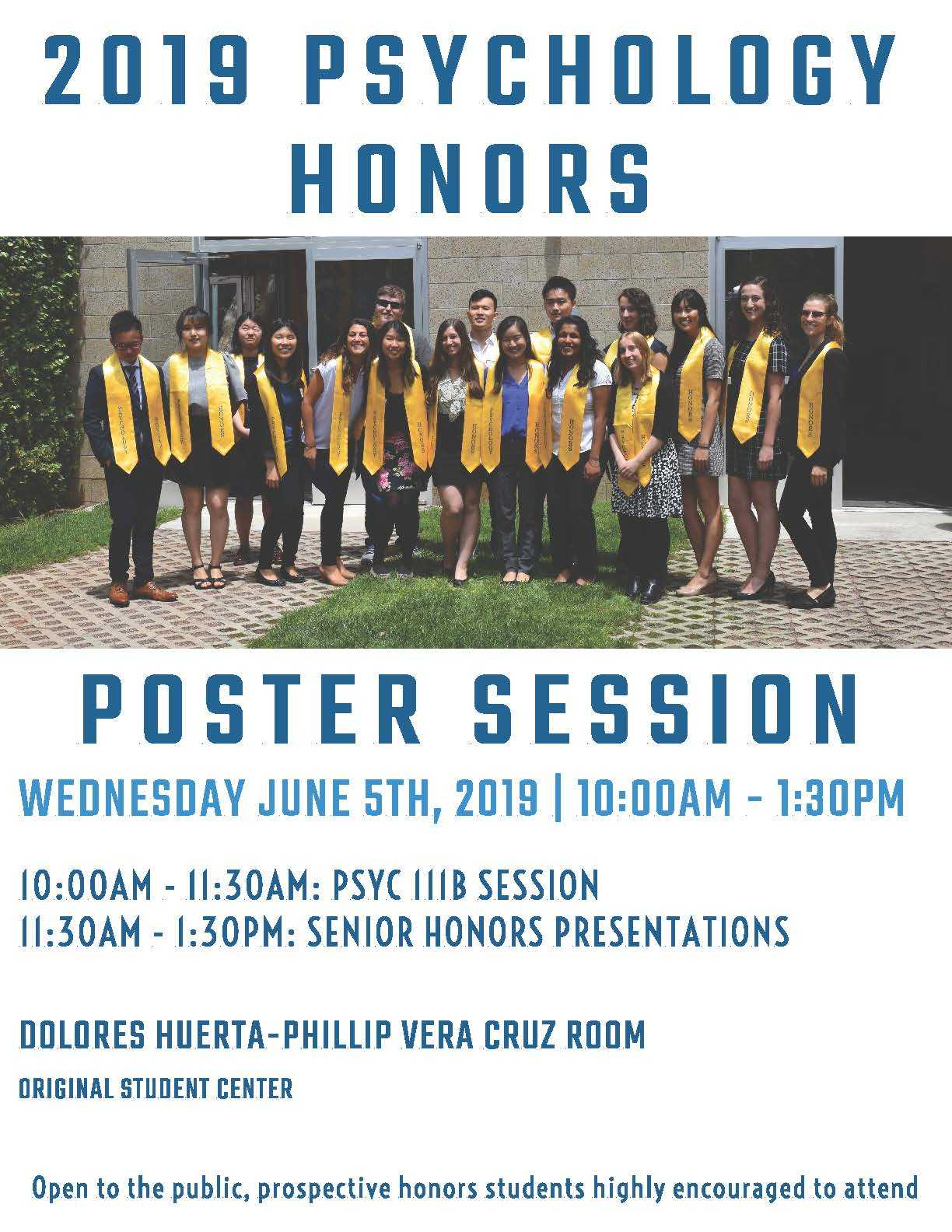 Psychology Department Workshops & Events